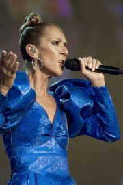 Celine Dion performs British Summer Time Festival at Hyde Park in London 2019/07/05 24