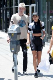Chantel Jeffries with a friend Out in West Hollywood 2019/07/16 2