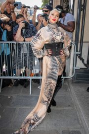 Christina Aguilera attends Jean Paul Gaultier Haute Couture Fall/Winter 2020 Show of PFW in Paris 2019/07/03 5