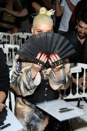 Christina Aguilera attends Jean Paul Gaultier Haute Couture Fall/Winter 2020 Show of PFW in Paris 2019/07/03 19