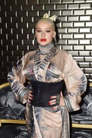 Christina Aguilera attends Jean Paul Gaultier Haute Couture Fall/Winter 2020 Show of PFW in Paris 2019/07/03 31