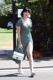 Daisy Lowe arrives at Wimbledon tennis championship in London 2019/07/11 5