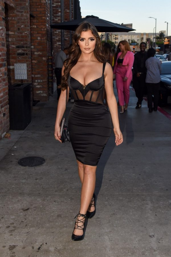 Demi Rose arrives at the TAO Restaurant in Los Angeles 2019/07/10 1