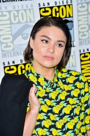 Devery Jacobs attends The Order Photocall at Comic-con International in San Diego 2019/07/18 1