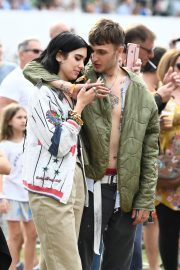 Dua Lipa and Anwar Hadid at the British Summer Time Hyde Park Concert in London 2019/07/06 3