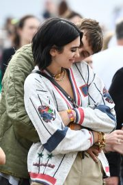 Dua Lipa and Anwar Hadid at the British Summer Time Hyde Park Concert in London 2019/07/06 4