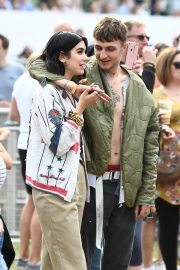 Dua Lipa and Anwar Hadid at the British Summer Time Hyde Park Concert in London 2019/07/06 5