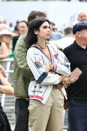 Dua Lipa and Anwar Hadid at the British Summer Time Hyde Park Concert in London 2019/07/06 9