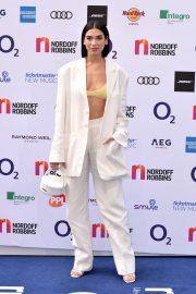Dua Lipa attends The O2 Silver Clef Awards at the Grosvenor House in London 2019/07/05 2