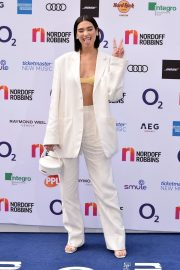 Dua Lipa attends The O2 Silver Clef Awards at the Grosvenor House in London 2019/07/05 5
