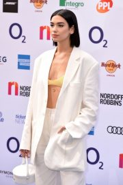 Dua Lipa attends The O2 Silver Clef Awards at the Grosvenor House in London 2019/07/05 6