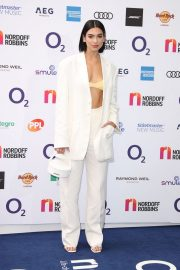Dua Lipa attends The O2 Silver Clef Awards at the Grosvenor House in London 2019/07/05 8