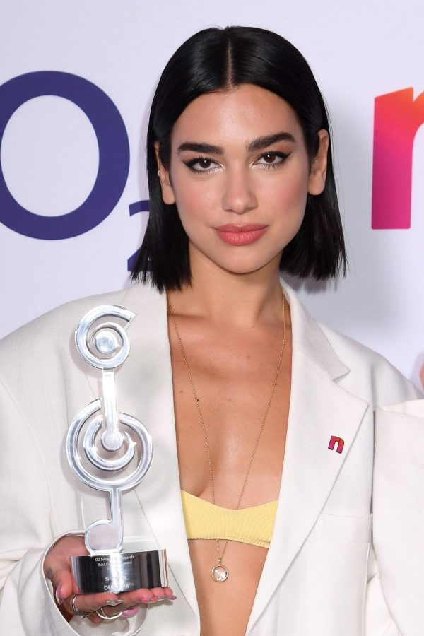 Dua Lipa wins The O2 Silver Clef Awards at the Grosvenor Hotel in London 2019/07/05 1