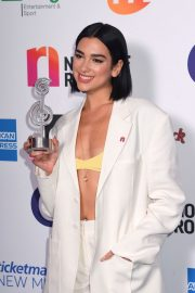 Dua Lipa wins The O2 Silver Clef Awards at the Grosvenor Hotel in London 2019/07/05 2