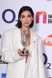 Dua Lipa wins The O2 Silver Clef Awards at the Grosvenor Hotel in London 2019/07/05 4