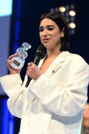 Dua Lipa wins The O2 Silver Clef Awards at the Grosvenor House in London 2019/07/05 5