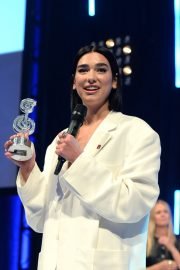 Dua Lipa wins The O2 Silver Clef Awards at the Grosvenor House in London 2019/07/05 6