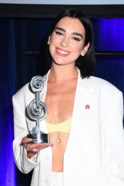 Dua Lipa wins The O2 Silver Clef Awards at the Grosvenor House in London 2019/07/05 8