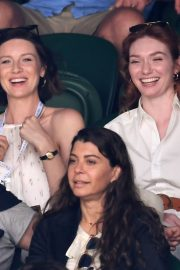 Eleanor Tomlinson attends Wimbledon 2019 Tennis Championships in England 2019/07/08 6