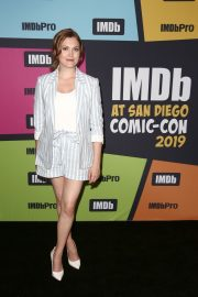 Eliza Taylor attends the #IMDboat at Comic-Con 2019 in San Diego 2019/07/19 2