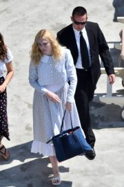 """Elle Fanning arrives at the """"Teen Spirit"""" Press Conference at Giffoni Film Festival 2019/07/22 2"""
