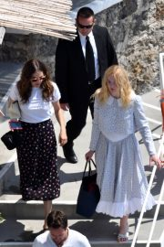 """Elle Fanning arrives at the """"Teen Spirit"""" Press Conference at Giffoni Film Festival 2019/07/22 3"""