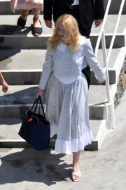 """Elle Fanning arrives at the """"Teen Spirit"""" Press Conference at Giffoni Film Festival 2019/07/22 4"""