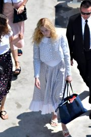 """Elle Fanning arrives at the """"Teen Spirit"""" Press Conference at Giffoni Film Festival 2019/07/22 6"""