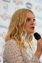 """Elle Fanning attends """"Teen Spirit"""" Press conference at Giffoni Film Festival 2019/07/22 3"""