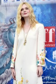 Elle Fanning in Stylish Dress attends the Giffoni Film Festival Day 4 2019/07/22 5