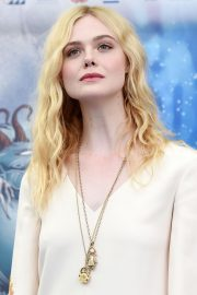 Elle Fanning in Stylish Dress attends the Giffoni Film Festival Day 4 2019/07/22 6