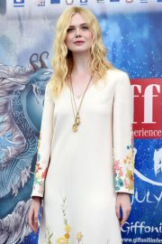 Elle Fanning in Stylish Dress attends the Giffoni Film Festival Day 4 2019/07/22 7