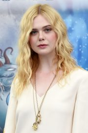Elle Fanning in Stylish Dress attends the Giffoni Film Festival Day 4 2019/07/22 8
