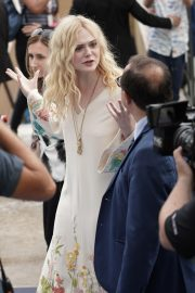 Elle Fanning in Stylish Dress attends the Giffoni Film Festival Day 4 2019/07/22 14