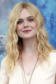 Elle Fanning in Stylish Dress attends the Giffoni Film Festival Day 4 2019/07/22 19