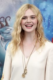 Elle Fanning in Stylish Dress attends the Giffoni Film Festival Day 4 2019/07/22 21