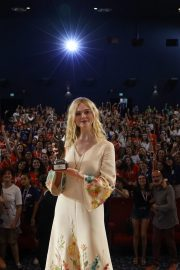 Elle Fanning in Stylish Dress attends the Giffoni Film Festival Day 4 2019/07/22 25