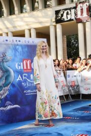 Elle Fanning in Stylish Dress attends the Giffoni Film Festival Day 4 2019/07/22 28