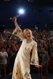 Elle Fanning in Stylish Dress attends the Giffoni Film Festival Day 4 2019/07/22 29