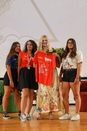 Elle Fanning in Stylish Dress attends the Giffoni Film Festival Day 4 2019/07/22 31