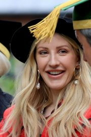 Ellie Goulding arrives Doctor of Arts Degree from the University of Kent 2019/07/18 1