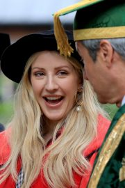 Ellie Goulding arrives Doctor of Arts Degree from the University of Kent 2019/07/18 4