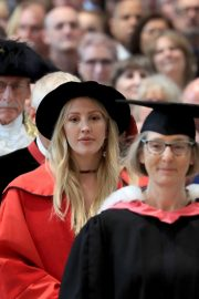 Ellie Goulding arrives Doctor of Arts Degree from the University of Kent 2019/07/18 5