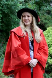 Ellie Goulding arrives Doctor of Arts Degree from the University of Kent 2019/07/18 6