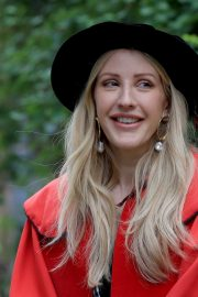 Ellie Goulding arrives Doctor of Arts Degree from the University of Kent 2019/07/18 8
