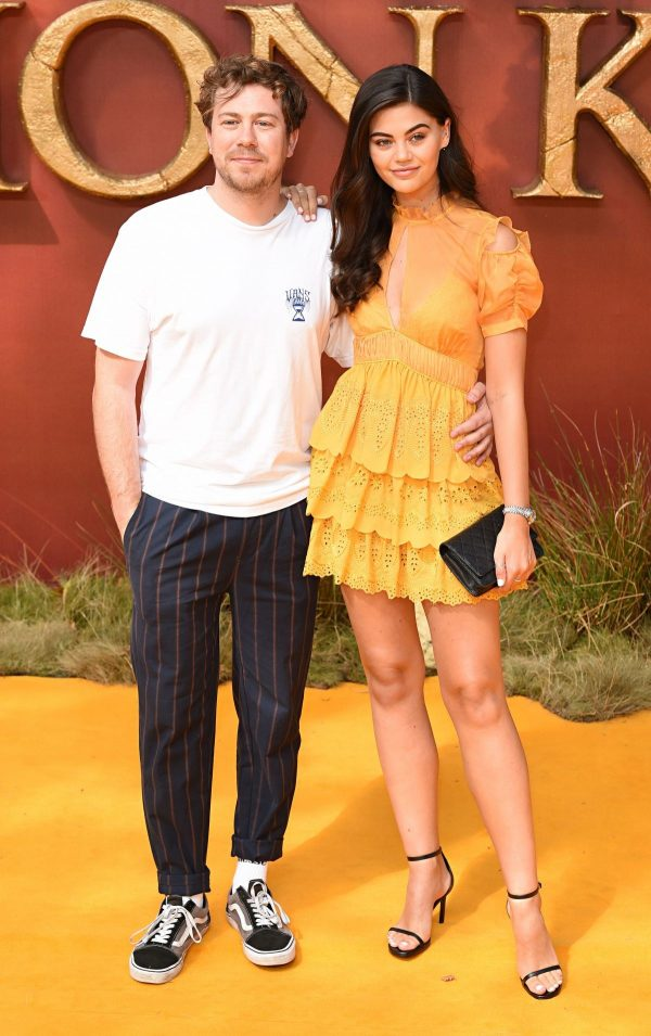 "Emily Canham and James Bourne attends ""The Lion King"" Premiere in London 2019/07/14 5"