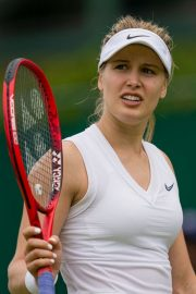 Eugenie Bouchard - Wimbledon Tennis Championships at Croquet Club in London 2019/07/02 2