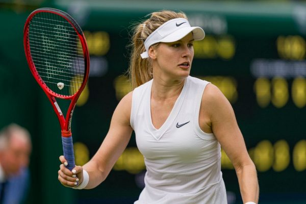 Eugenie Bouchard - Wimbledon Tennis Championships at Croquet Club in London 2019/07/02 3