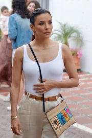 Eva Longoria with her husband out in Marbella 2019/07/09 2