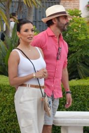 Eva Longoria with her husband out in Marbella 2019/07/09 3